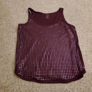 NY&Co sequins sparkling tank top.